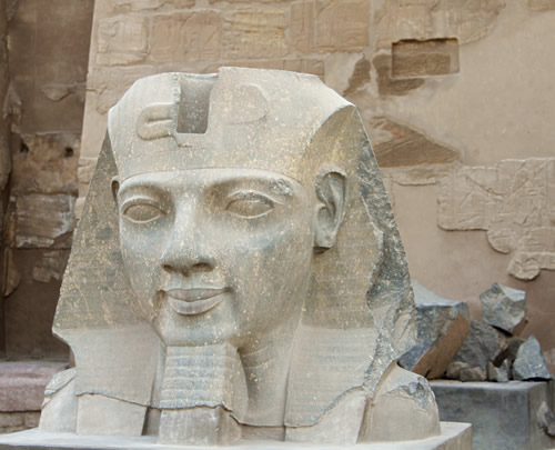 Statue from Luxor, Egypt